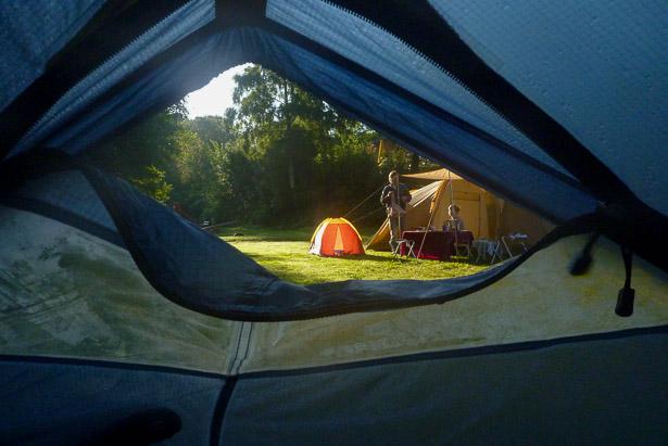 Petit matin au camping